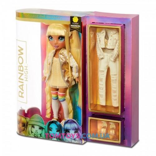 Кукла Rainbow high Санни с аксессуарами 569626