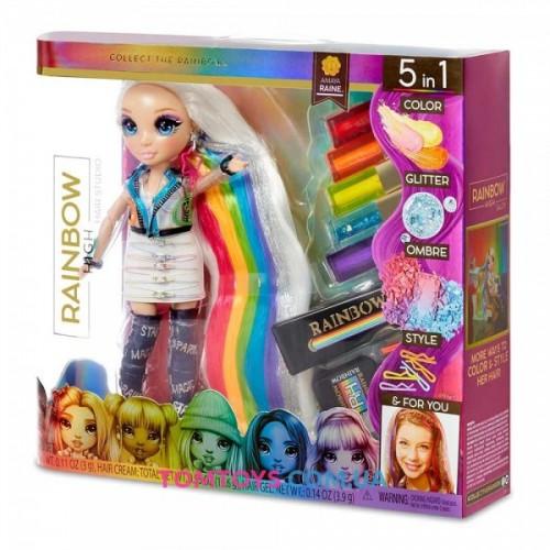 Кукла Rainbow high Стильная прическа с аксессуарами 569329