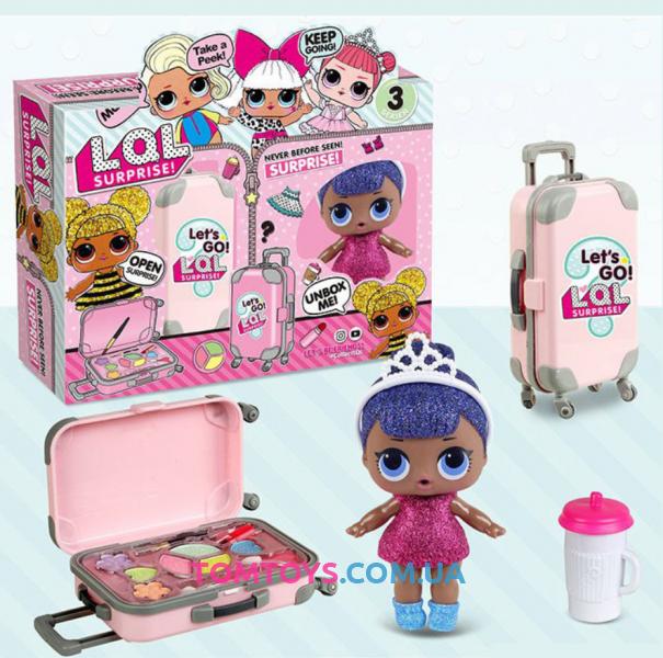 Кукла L.O.L. с чемоданом и косметикой BB 39-2