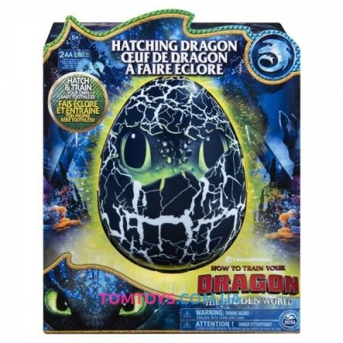 Интерактивная игрушка  Dragons Как приручить дракона 3 Дракон Беззубик в яйце SM66631