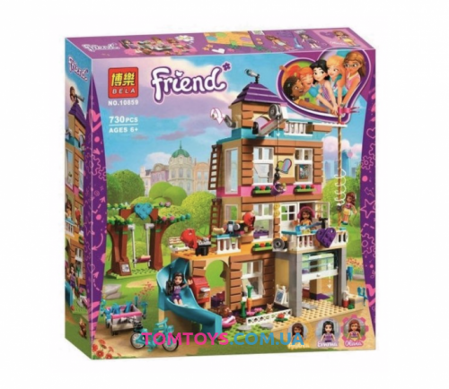Конструктор Bela Friends Дом дружбы аналог LEGO Friends 10859