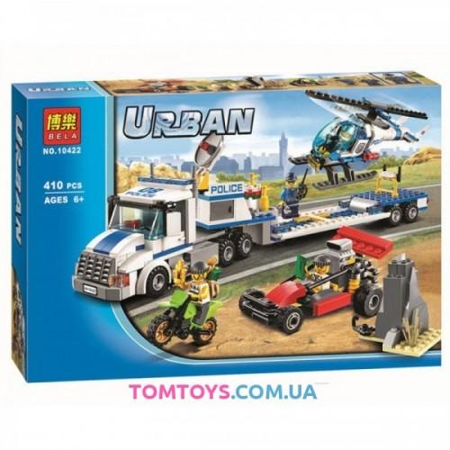 Конструктор Bela Urban аналог Lego city 60049 Перевозчик вертолёта 10422