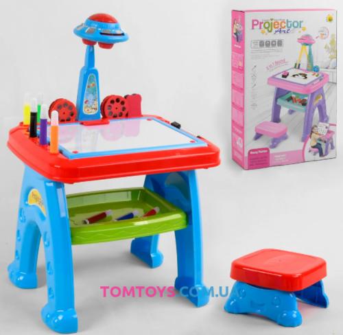 Детский стол мольберт 3 в 1 22088-30A/B