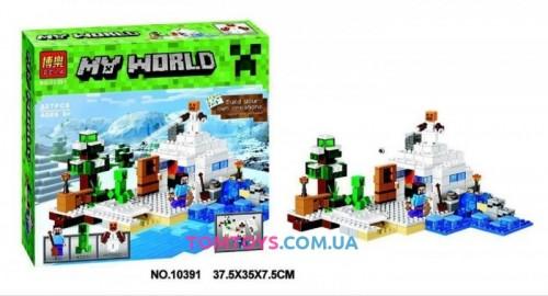 Конструктор Bela Майнкрафт Bela аналог Lego Minecraft 10391