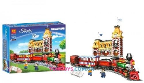 Конструктор Lari  Поезд и станция Disney11442