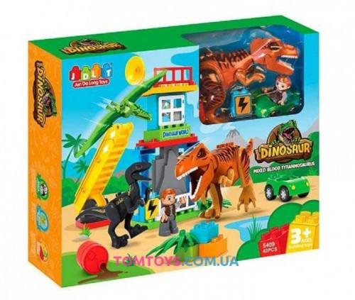 Конструктор JDLT Мир динозавров 5409