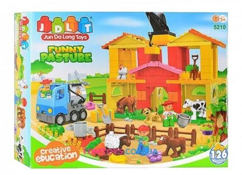 Конструктор JDLT Веселая ферма аналог Lego Duplo 5210