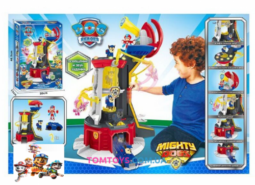 Большая смотровая башня Paw Patrol Mighty Pups Super Paws Lookout Tower 3003