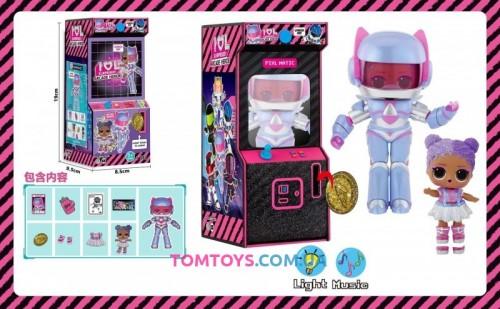 Игровой набор кукла  аналог LOL Surprise Arcade Heroes TB 003
