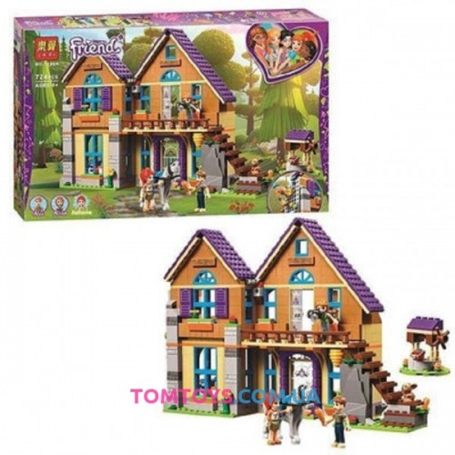 Конструктор Bela Friends Дом Мии аналог LEGO Friends 11204