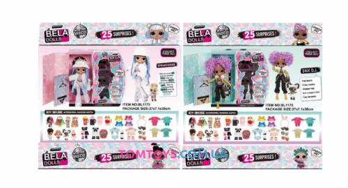 Набор с куклой BELA DOLLS аналог L.O.L. Surprise Winter Disco. BL1175