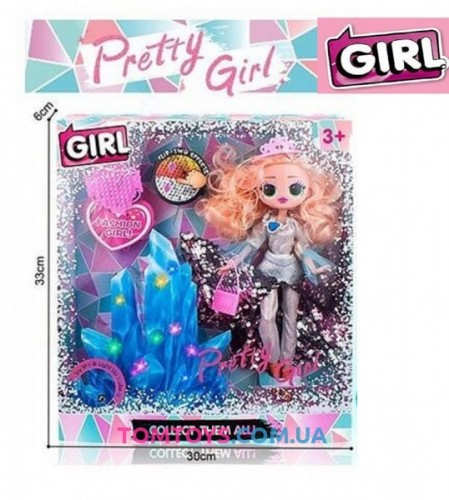 Кукла аналог L.O.L. OMG Crystal Star LK 1039