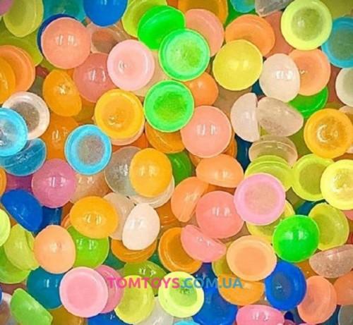 Фишболы, светящиеся в темноте для украшения слайма 15 грамм