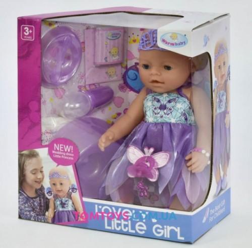Кукла пупс интерактивный аналог Baby Born 8020-470