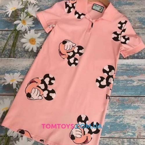 Платье Gucci & Mickey Polo Dress