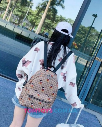 Рюкзак-сумка GUCCI & Mickey Mouse.