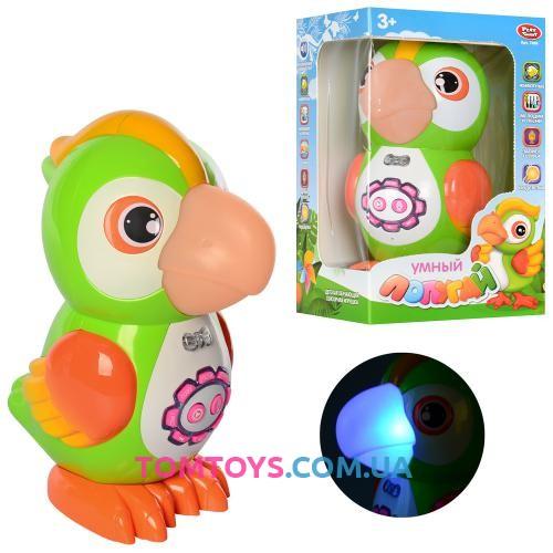 Развивающая интерактивная игрушка Умный Попугай  7496