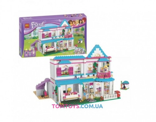 Конструктор Bela Friend Дом Стефани   аналог LEGO Friends 10612