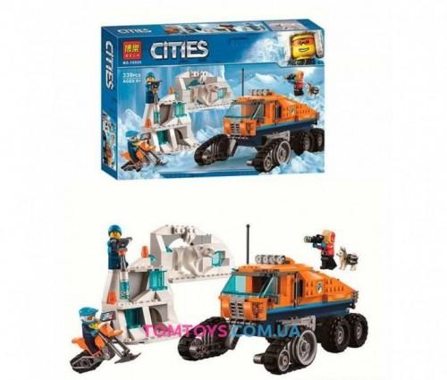 Конструктор Bela Грузовик ледовой разведки аналог Lego City 10995