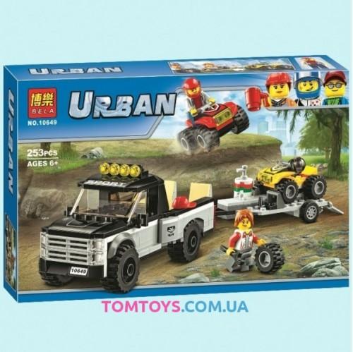 Конструктор Bela Гоночная команда аналог Lego City 10649