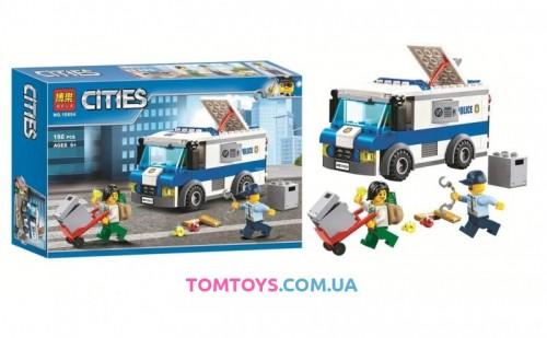 Конструктор Bela Инкассаторская машина аналог Lego City 10654