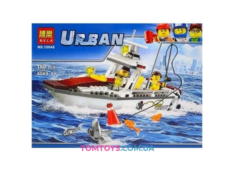 Конструктор Bela Рыболовный катер аналог Lego City 10646