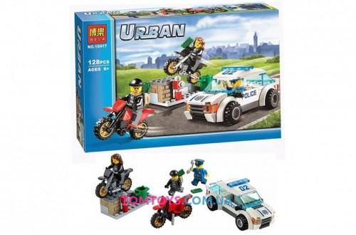 Конструктор Bela Скоростная полицейская погоня аналог Lego City 10417