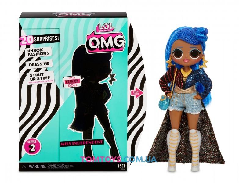 Игровой набор с куклой L.O.L. SURPRISE серии O.M.G S2 Леди Независимость 565130