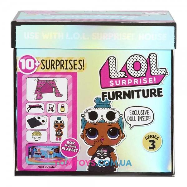 Набор сюрприз LOL Surprise Стильный интерьер S3 Комната Леди Сплюшки 570035