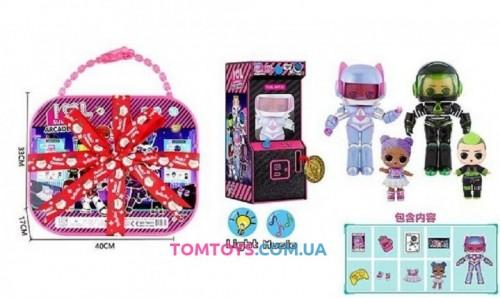 Игровой набор кукла аналог LOL Surprise Arcade Heroes ТВ 011