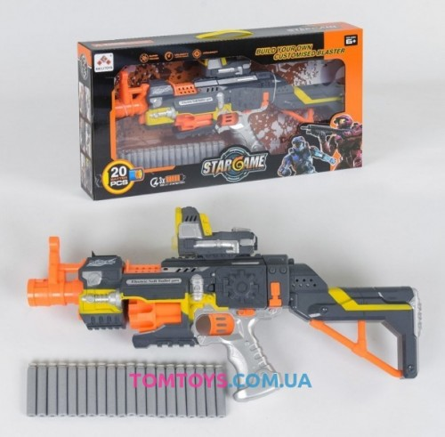 Автомат Бластер с мягкими пулями SB 418