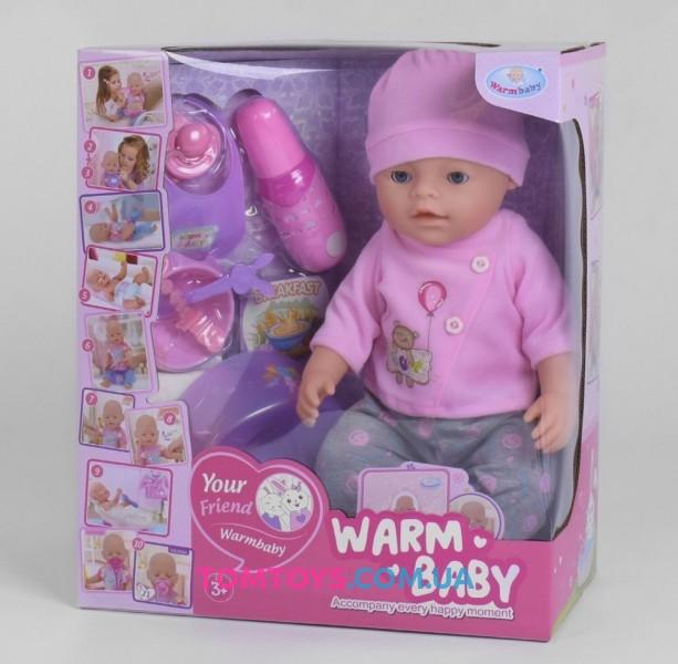 Кукла пупс интерактивный WZJ 058 A-033 A-2