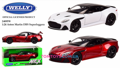 Автомодель Welly 1:24 ASTON MARTIN DBS SUPERLEGGERA 24095W