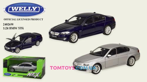 Автомодель Welly 1:24 BMW 535I 24026W