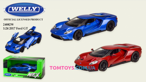 Автомодель Welly 1:24 FORD GT 24082W