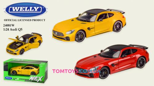 Автомодель Welly 1:24 MERCECES-AMG GT-R 24081W