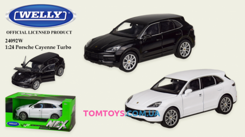 Автомодель Welly 1:24 PORSCHE CAYENNE TURBO 24092W
