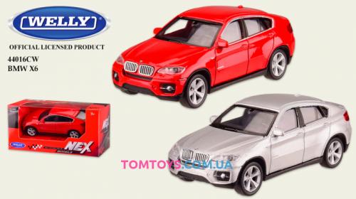 Автомодель Welly 1:43 BMW X6 44016CW