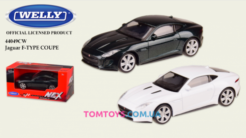 Автомодель Welly 1:43 JAGUAR F-TYPE COUPE 44049CW