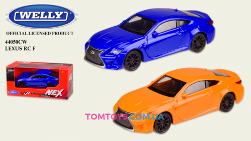 Автомодель Welly 1:43 LEXUS RC 44050CW