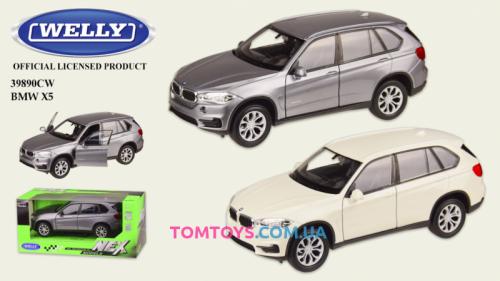 Автомодель Welly 1:32 BMW X5  39890CW
