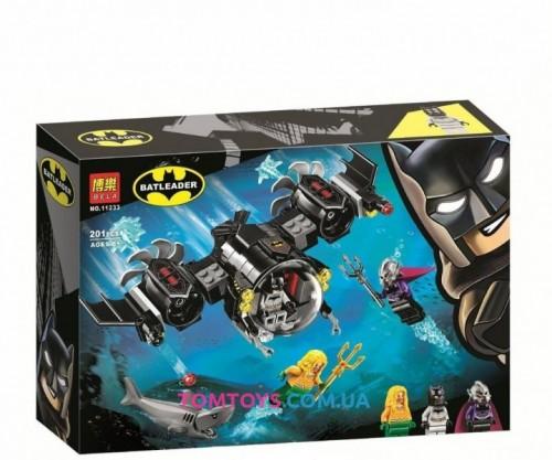 Конструктор Bela Batman Подводный бой Бэтмена 11233