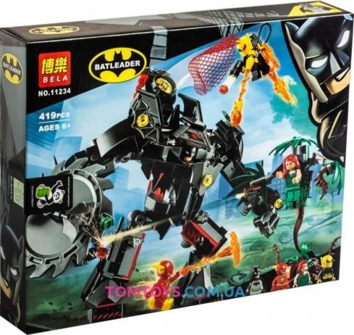Конструктор Bela Batman Робот Бэтмена против робота Ядовитого Плюща 11234