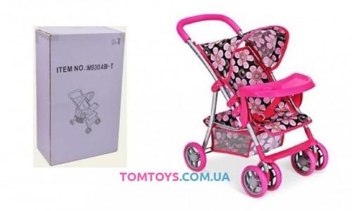 Коляска для кукол серии MELOGO 9304 BW-T
