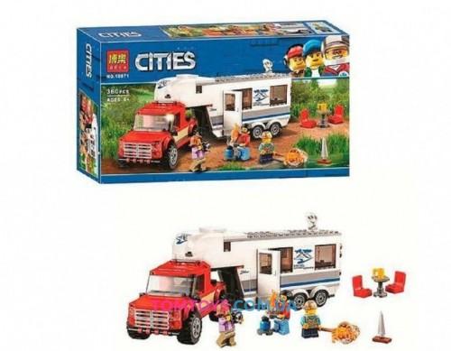 Конструктор Bela Cities Дом на колесах 10871