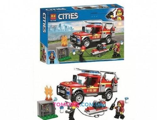Конструктор Bela Cities Грузовик начальника пожарной охраны 11390