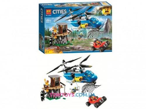 Конструктор Bela Cities Погоня в горах 10863