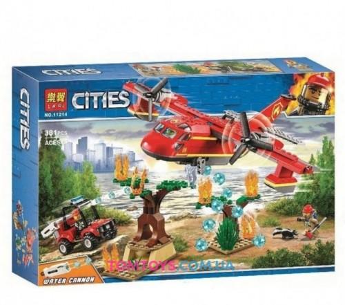 Конструктор Bela (Lari) Cities Пожарный самолет 11214