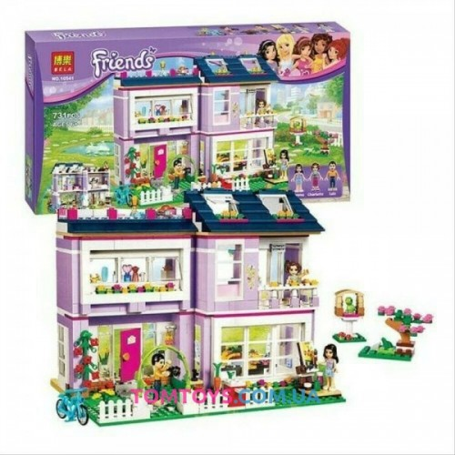 Конструктор Bela Friends  Дом Эммы аналог LEGO Friends 10541