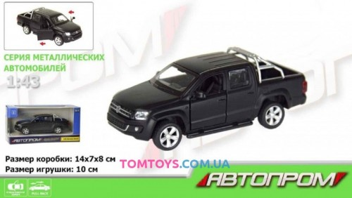 Автомодель АВТОПРОМ 1:43 Volkswagen Amarok 7616